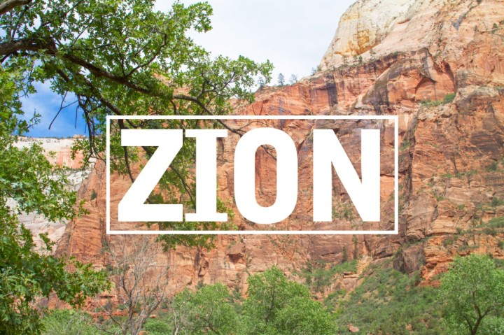 Zion National Park : Family Road Trip 2018