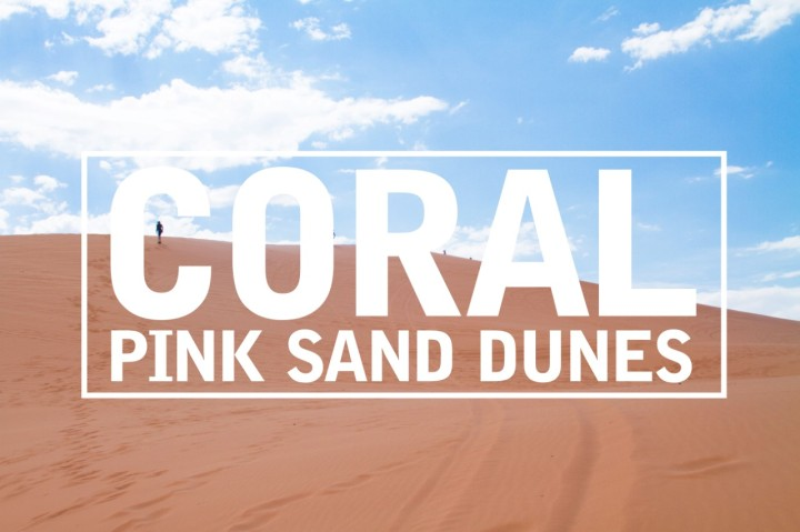 Coral Pink Sand Dunes: Family Road Trip 2018